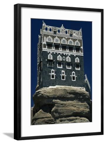 The Rock Palace or Dar Al-Hajar--Framed Art Print