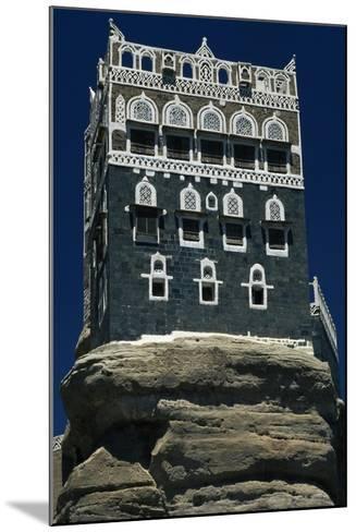 The Rock Palace or Dar Al-Hajar--Mounted Giclee Print