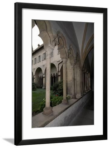 View of Cloister of Franciscan Church--Framed Art Print