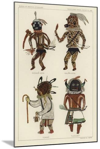 Puukon Hoya, Paluna Hoya, Tcanau, Tuckubot--Mounted Giclee Print
