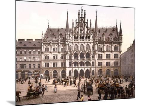 Munich City Hall, Pub. C.1895--Mounted Photographic Print