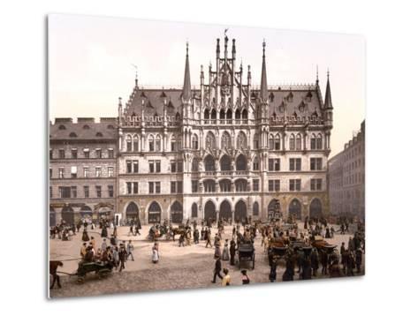 Munich City Hall, Pub. C.1895--Metal Print