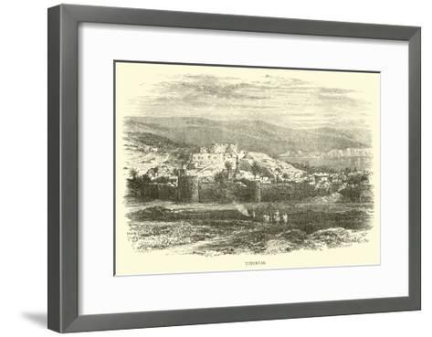 Tiberias--Framed Art Print