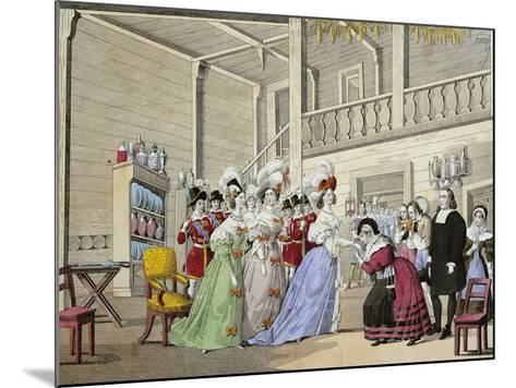 Scene from Opera I Puritani--Mounted Giclee Print