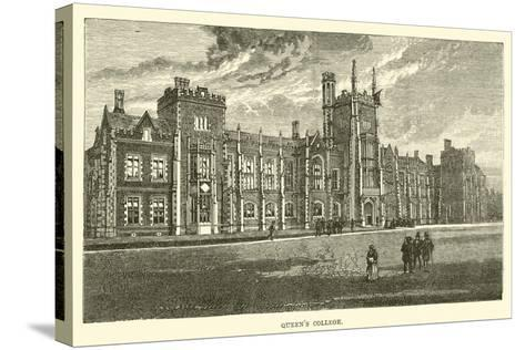 Queen's College--Stretched Canvas Print