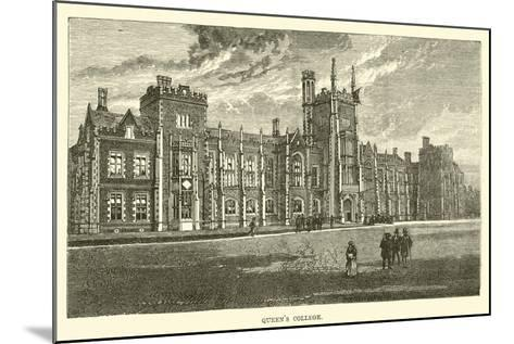 Queen's College--Mounted Giclee Print
