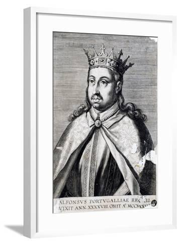 Portrait of Alfonso II, known as Fat--Framed Art Print