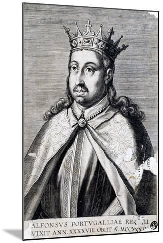 Portrait of Alfonso II, known as Fat--Mounted Giclee Print