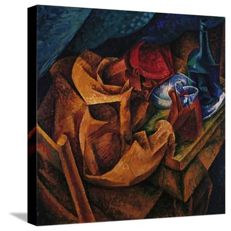Drinker-Umberto Boccioni-Stretched Canvas Print