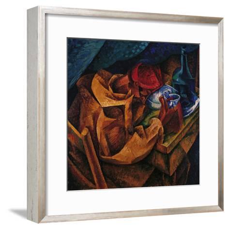 Drinker-Umberto Boccioni-Framed Art Print