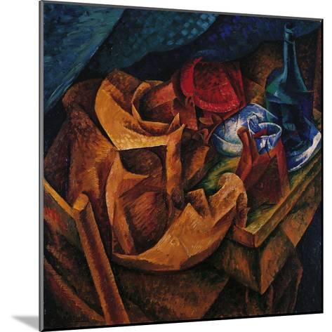 Drinker-Umberto Boccioni-Mounted Giclee Print