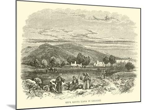Kefr Kenna, Cana in Galilee--Mounted Giclee Print