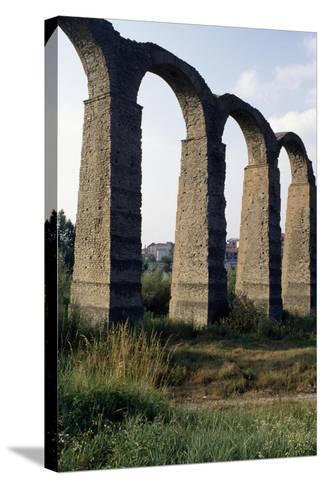 Roman Aqueduct--Stretched Canvas Print