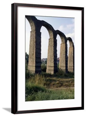 Roman Aqueduct--Framed Art Print