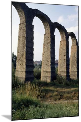 Roman Aqueduct--Mounted Giclee Print
