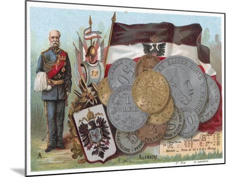 German Currency--Mounted Giclee Print