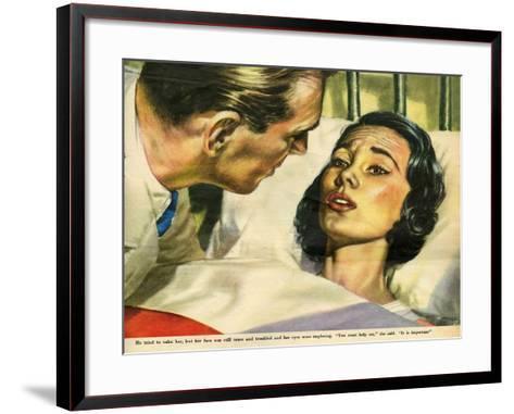 Illustration from 'John Bull', 1953--Framed Art Print