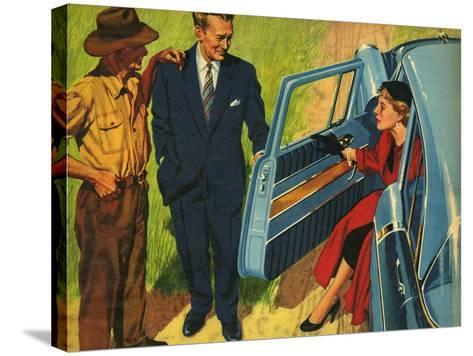 Illustration from 'John Bull', 1956--Stretched Canvas Print