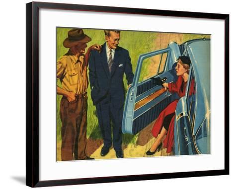 Illustration from 'John Bull', 1956--Framed Art Print