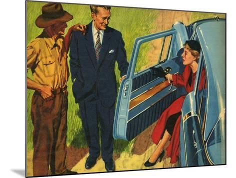 Illustration from 'John Bull', 1956--Mounted Giclee Print