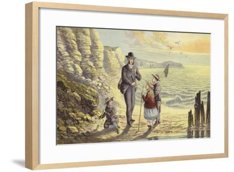 On the Sea Shore-Alexander Francis Lydon-Framed Art Print