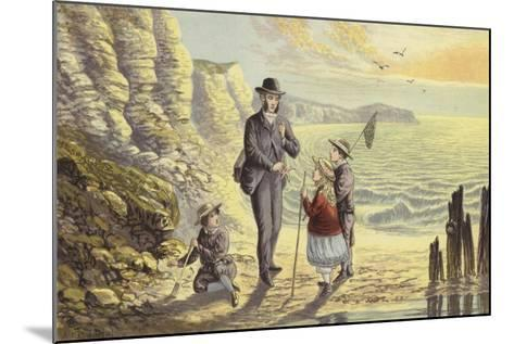 On the Sea Shore-Alexander Francis Lydon-Mounted Giclee Print