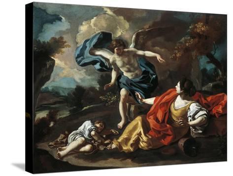 Hagar and Ishmael-Francesco de Mura-Stretched Canvas Print