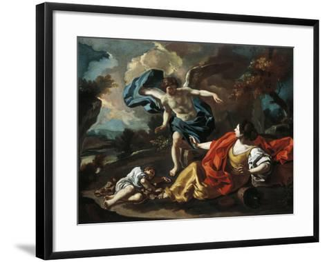 Hagar and Ishmael-Francesco de Mura-Framed Art Print
