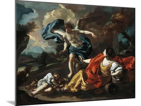 Hagar and Ishmael-Francesco de Mura-Mounted Giclee Print