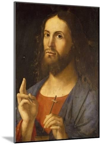 The Saviour Blessing, 1498-Alvise Vivarini-Mounted Giclee Print