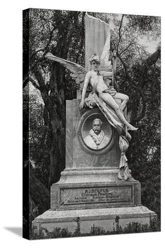 Monument Dedicated to Archduke Rudolf of Hapsburg--Stretched Canvas Print