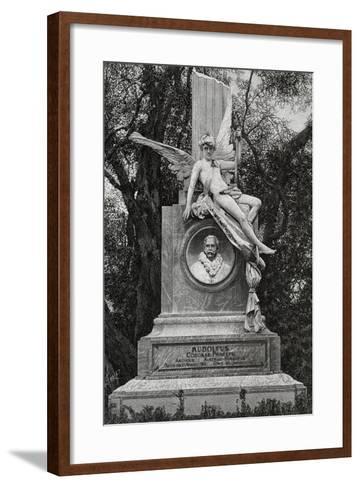 Monument Dedicated to Archduke Rudolf of Hapsburg--Framed Art Print