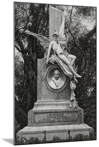 Monument Dedicated to Archduke Rudolf of Hapsburg--Mounted Giclee Print