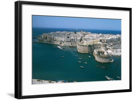 Gallipoli, Salento, Puglia--Framed Art Print