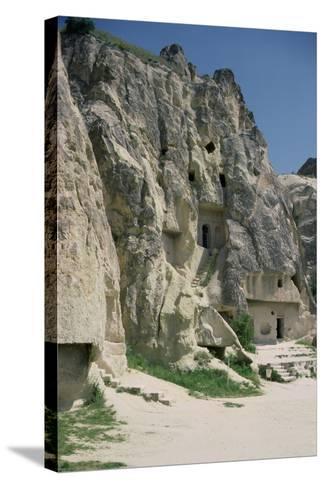 View of the Monastery of Karanlik Kilise--Stretched Canvas Print