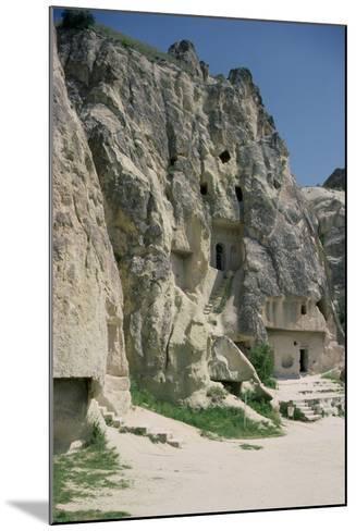 View of the Monastery of Karanlik Kilise--Mounted Photographic Print