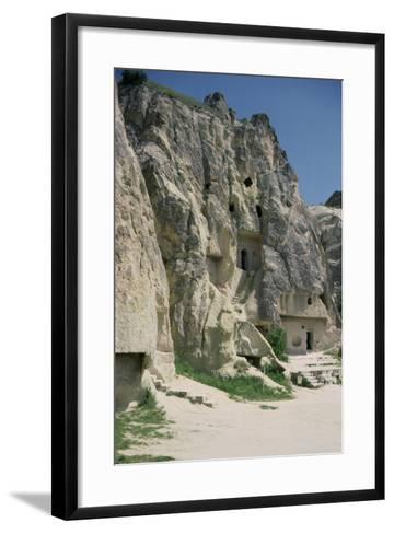 View of the Monastery of Karanlik Kilise--Framed Art Print