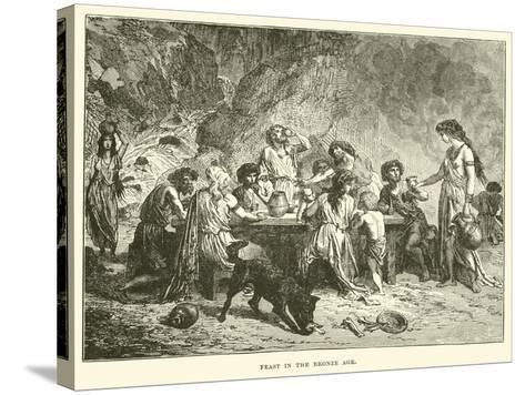 Feast in the Bronze Age--Stretched Canvas Print