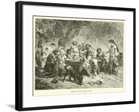 Feast in the Bronze Age--Framed Art Print