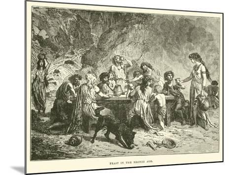 Feast in the Bronze Age--Mounted Giclee Print