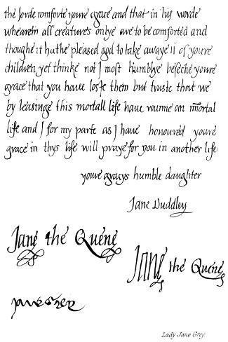 Lady Jane Grey--Stretched Canvas Print