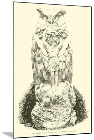 Puck--Mounted Giclee Print