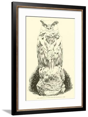 Puck--Framed Art Print