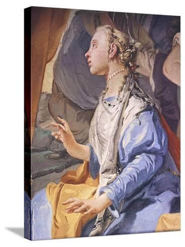 Rachel Hiding Idols-Giambattista Tiepolo-Stretched Canvas Print
