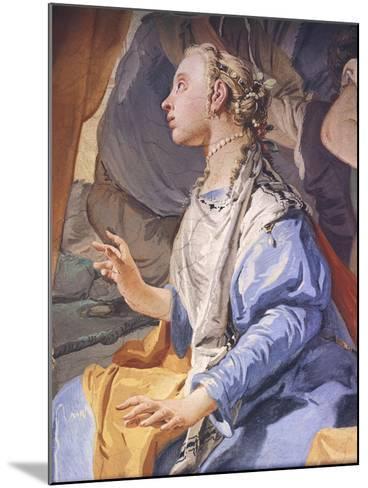 Rachel Hiding Idols-Giambattista Tiepolo-Mounted Giclee Print