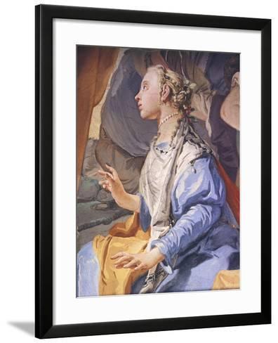 Rachel Hiding Idols-Giambattista Tiepolo-Framed Art Print