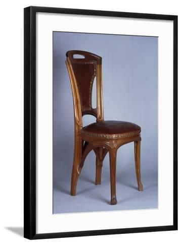 Art Nouveau Style Chair, 1900-Eugene Vallin-Framed Art Print