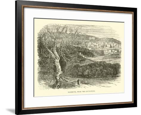 Nazareth, from the South-West--Framed Art Print