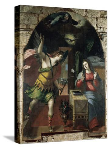 The Annunciation, 1590-Wenceslas Cobergher-Stretched Canvas Print