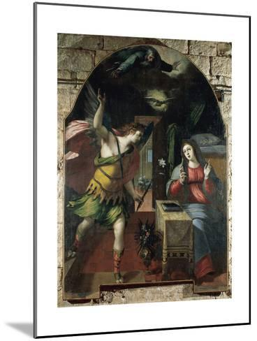 The Annunciation, 1590-Wenceslas Cobergher-Mounted Giclee Print